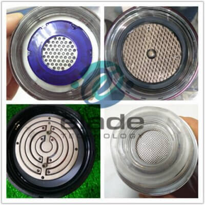 Platinum anode for hydrogen-rich water cup electrode